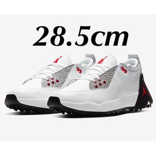 NIKE - ラスト1点新品28.5cmナイキジョーダンADG2ゴルフエアホワイトセメント