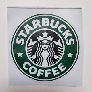 スターバックスコーヒー(Starbucks Coffee)のスターバックス シール 旧ロゴ 防水☆(しおり/ステッカー)