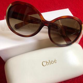 Chloe - クロエ サングラス  箱 ケース付き