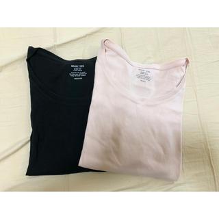 ジーユー(GU)のGU ロンT 2枚セット売り(Tシャツ(長袖/七分))
