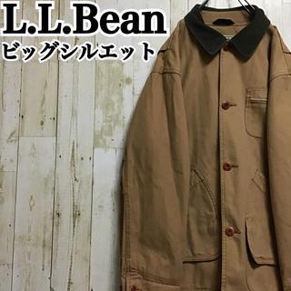 L.L.Bean - 【エルエルビーン】【ダック生地】【裏地チェック】【ハンティングジャケット】