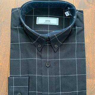 アレキサンダーマックイーン(Alexander McQueen)のami alexandre mattiussi チョークストライプシャツ 39(シャツ)