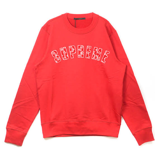 シュプリーム(Supreme)のsupreme Louis Vuitton arc logo crewneck(スウェット)