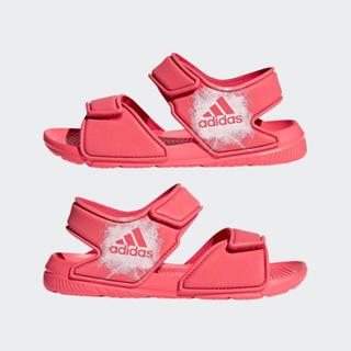 アディダス(adidas)の新品未使用タグ付き アディダス ベビー キッズサンダル  女の子用(サンダル)