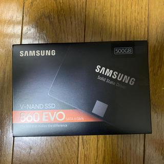 SAMSUNG - SAMSUNG SSD500GB 新品