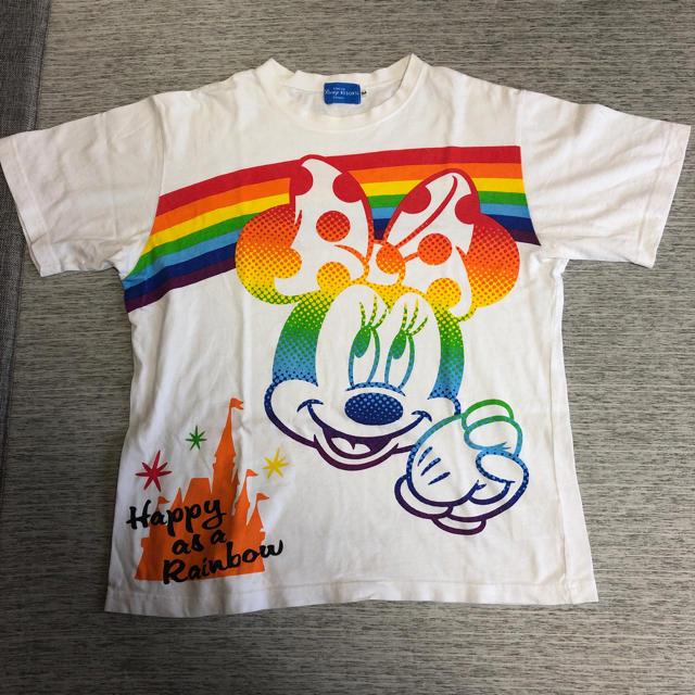 Disney(ディズニー)のディズニーランドで購入したTシャツ エンタメ/ホビーのおもちゃ/ぬいぐるみ(キャラクターグッズ)の商品写真