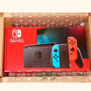 任天堂 - Nintendo Switch 本体 Joy-Con ネオンブルー/ネオンレッド