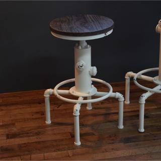 【送料無料】Smoky Bar Chair / White(その他)
