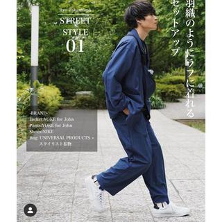 SUNSEA - YOKE for JOHN 1Tuck Wide Trousers  M
