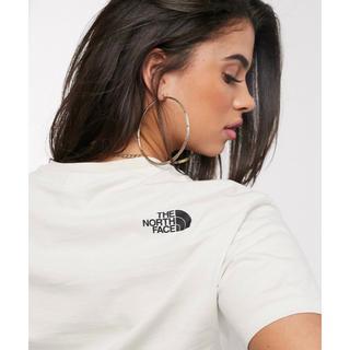 THE NORTH FACE - 【Sサイズ】新品未使用タグ付き ノースフェイス クロップドTシャツ クリーム