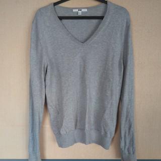 ユニクロ(UNIQLO)のUNIQLO WOMEN Vネックセーター(ニット/セーター)