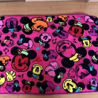 Disney - ディズニーリゾート ブランケット ミニー ピンク