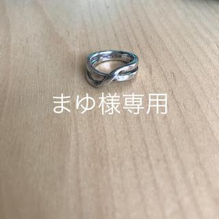 ヨンドシー(4℃)の4℃  シルバーピンキーリング(リング(指輪))