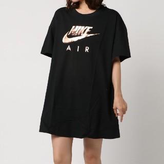 NIKE - ★美品★NIKE ナイキ ワンピース丈Tシャツ ビッグ サイズXS
