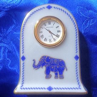 アビランド(Haviland)のHAVILAND CRILLON置き時計(食器)