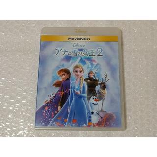 ディズニー(Disney)のアナと雪の女王2 ブルーレイ 純正ケース付 新品未再生 国内正規品(キッズ/ファミリー)