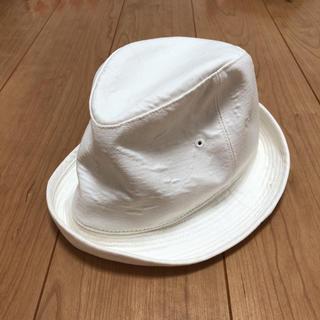 トゥモローランド(TOMORROWLAND)のara ara 定価約1.2万 白ハット クリーミーなホワイト(ハット)