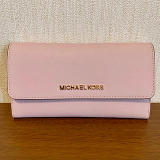 Michael Kors - 新品・正規品♡MICHAEL KORS ピンク♡長財布