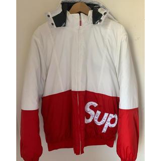 シュプリーム(Supreme)のSupreme sideline logo parka (ダウンジャケット)