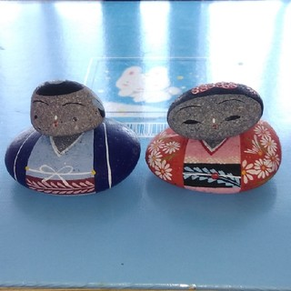 石こけし(中国地方の工芸品) (置物)