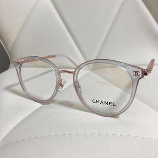 CHANEL - 即日発送 CHANEL シャネル メガネ フレーム クリア パープル 3364