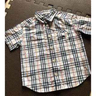 BURBERRY - 美品 バーバリー シャツ 100