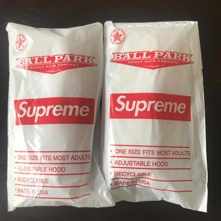 シュプリーム(Supreme)のsupreme ポンチョ 2枚セット(ポンチョ)