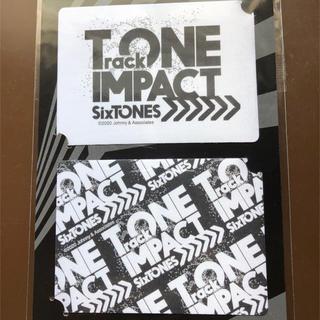 Johnny's - sixTONES TrackONEIMPACT ステッカー