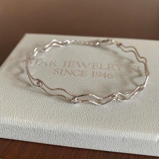 STAR JEWELRY - スタージュエリー ダイヤモンド K18WG ブレスレット