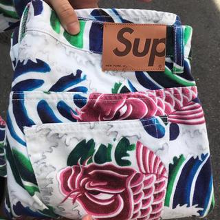 シュプリーム(Supreme)のSupreme ss20 Waves Regular Jean (デニム/ジーンズ)