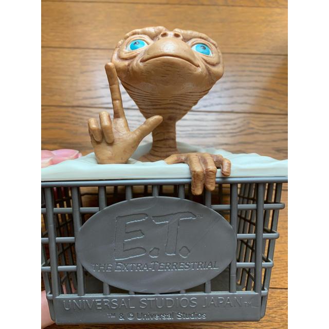 USJ(ユニバーサルスタジオジャパン)のE・T(ET)小物入れ エンタメ/ホビーのおもちゃ/ぬいぐるみ(キャラクターグッズ)の商品写真