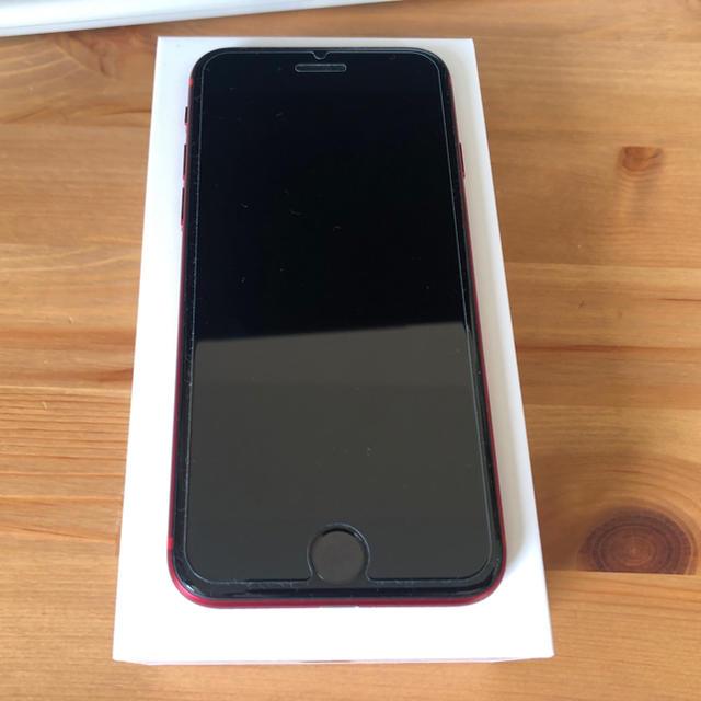 iPhone(アイフォーン)のiphone se 第2世代 2020 レッド 256GB  スマホ/家電/カメラのスマートフォン/携帯電話(スマートフォン本体)の商品写真