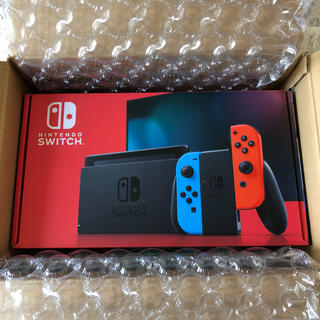 Nintendo Switch - 【新品未開封】Nintendo Switch 本体  (カラー:ネオン)