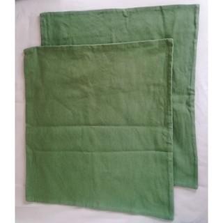 ムジルシリョウヒン(MUJI (無印良品))の無印良品  座布団カバー 2枚(クッションカバー)