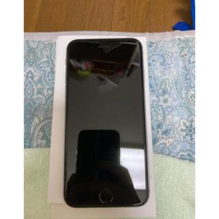 アップル(Apple)のiphone 6s 128gb スペースグレー(iPhoneケース)