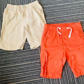 H&M - 男の子 ハーフパンツ 半ズボン 2点セット