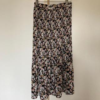 シマムラ(しまむら)の新品★しまむら★MUMUコラボ★花柄★スカート★Mサイズ(ロングスカート)