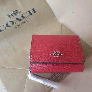 COACH - coach 3つ折り財布 新品未使用