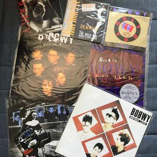 BOOWY  レコード 7枚