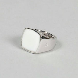 Maison Martin Margiela - 新品 TOM WOOD Cushion Ring White Agate