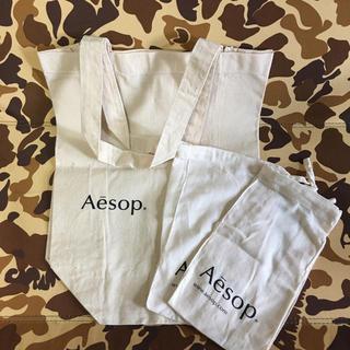 イソップ(Aesop)のAesop トートバッグ 巾着(ショップ袋)