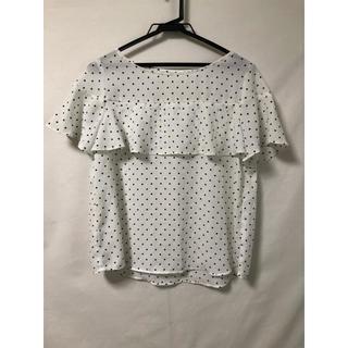 ジーユー(GU)のGUドットブラウス(シャツ/ブラウス(半袖/袖なし))
