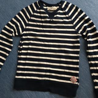 エイチアンドエム(H&M)のH&Mのボーダーカットソー(Tシャツ/カットソー)