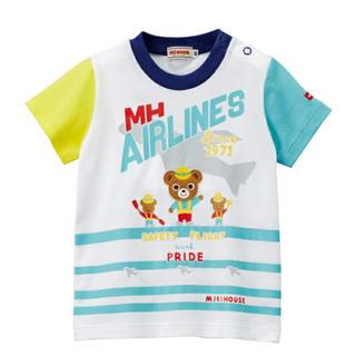 mikihouse - ミキハウスプッチーくん☆半袖Tシャツ(90)