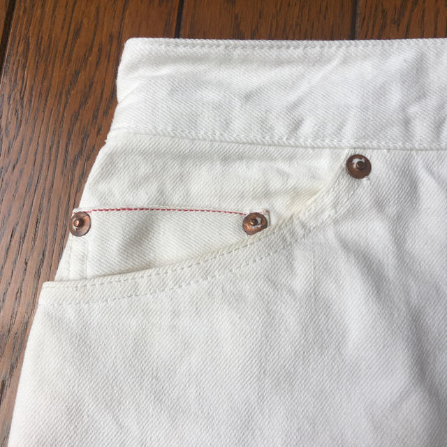 JOURNAL STANDARD(ジャーナルスタンダード)のジャーナルスタンダード relume ホワイトデニムスカート レディースのスカート(ひざ丈スカート)の商品写真