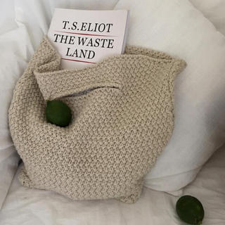 EDIT.FOR LULU - summer knit bag