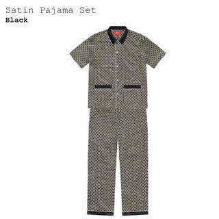 Supreme - 【あとは様専用】Supreme Satin Pajama Set 黒 S