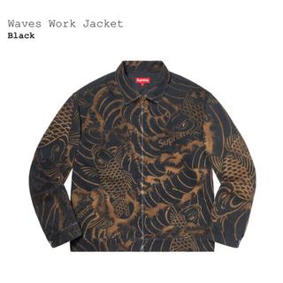 Supreme - 【XL】Supreme Waves Work Jacket