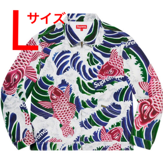 Supreme - Supreme Waves Work Jacket Lサイズ
