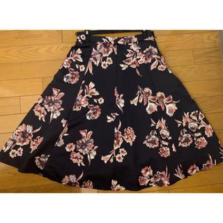ジャスグリッティー(JUSGLITTY)のJUSGLITTY 花柄スカート(ひざ丈スカート)